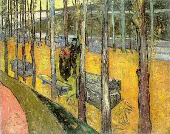Arles Van Gogh Alyscamps Arles Vincent Van Gogh