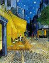 Café Terrace on Place du Forum - Vincent van Gogh - Arles 1888