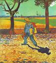 Painter on the Road to Tarascon - Vincent van Gogh - Arles 1888