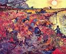 The Red Vineyard - Vincent van Gogh -  Arles 1888