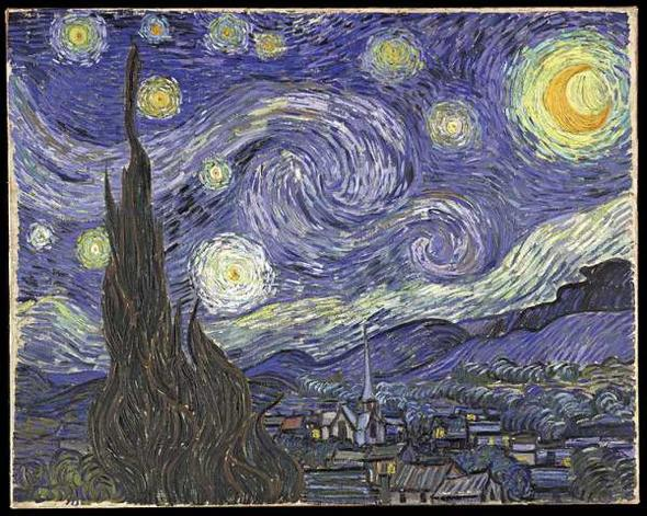 The Starry Night - Vincent van Gogh - Arles 1889