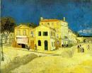 The yellow house - Vincent van Gogh - Arles 1888