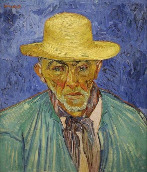 Portrait of a peasant - Patience Escalier - Vincent van Gogh - Arles 1888