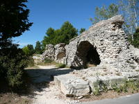 The Barbegal aqueduct and mill - Arles